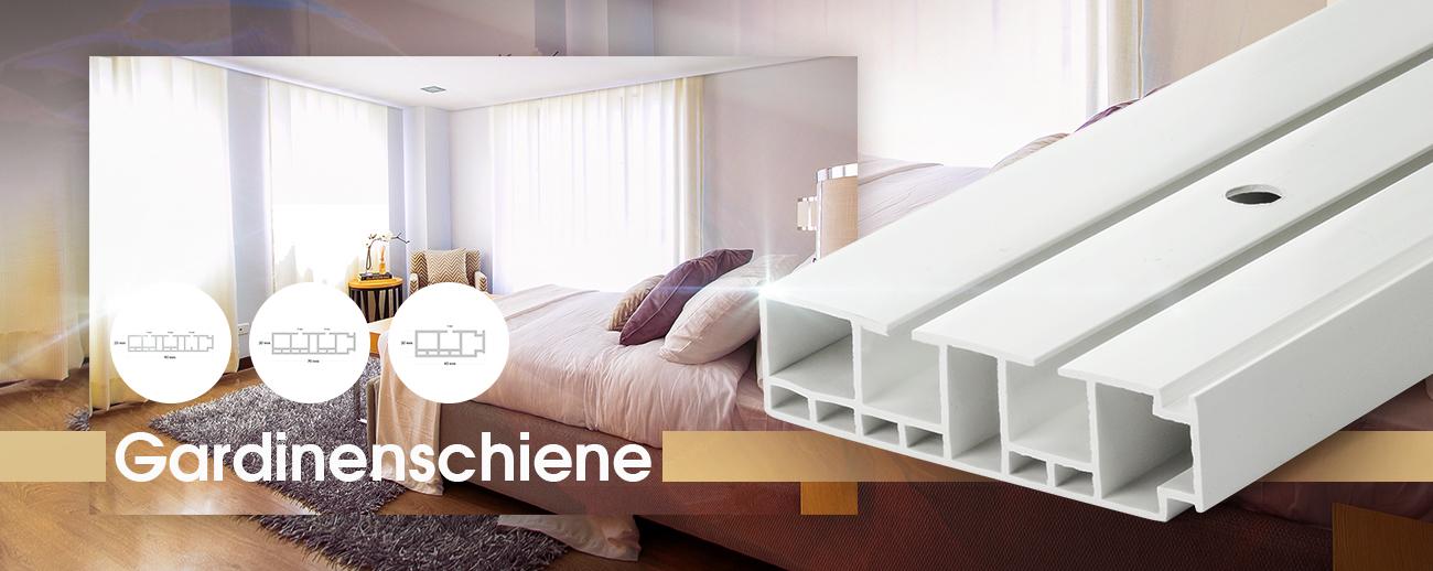 fl chenvorhangschiene ab 90cm 1 2 3 l ufig weiss gardinenschienen d bel ebay. Black Bedroom Furniture Sets. Home Design Ideas