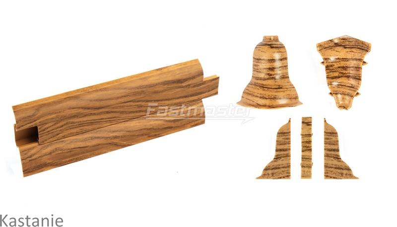 sockelleisten 2 5 meter 52mm nussbaum hell zubeh rteile leiste f r laminat ebay. Black Bedroom Furniture Sets. Home Design Ideas