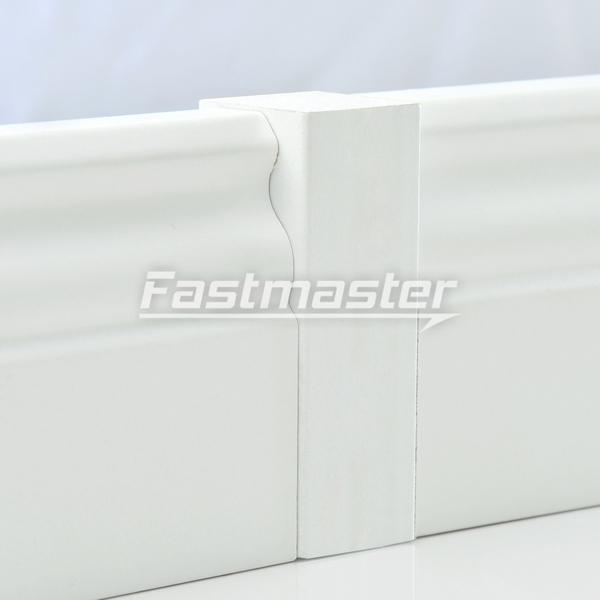 mdf universal eckklotz eckblock eckturm ecken f r sockelleisten wei berliner ebay. Black Bedroom Furniture Sets. Home Design Ideas