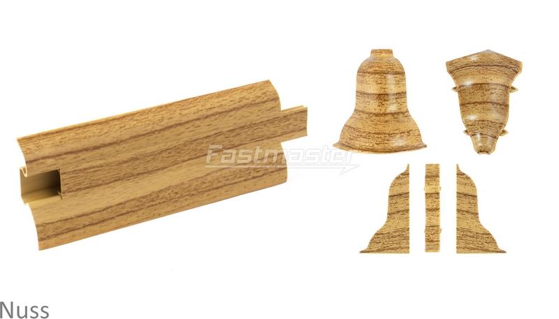 sockelleisten 2 5 meter 52mm kiefer alt zubeh rteile leiste f r laminat. Black Bedroom Furniture Sets. Home Design Ideas