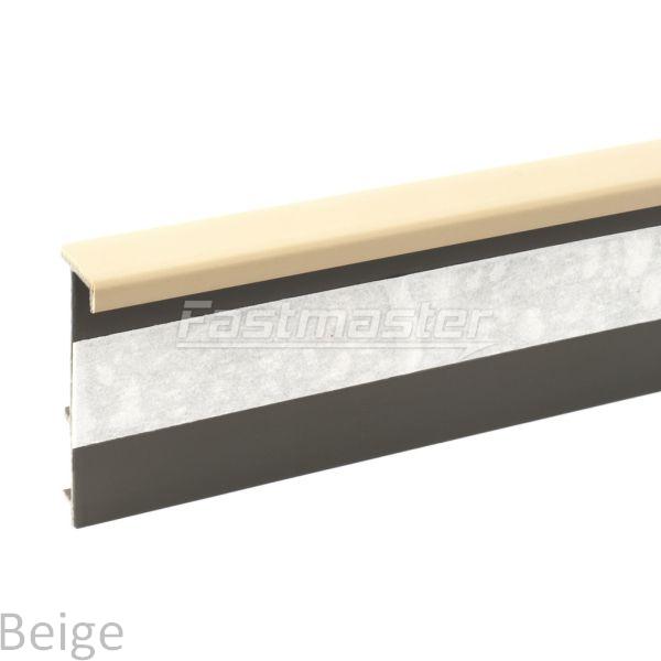 teppichleisten wei 2 5m teppich sockelleisten fussleisten. Black Bedroom Furniture Sets. Home Design Ideas