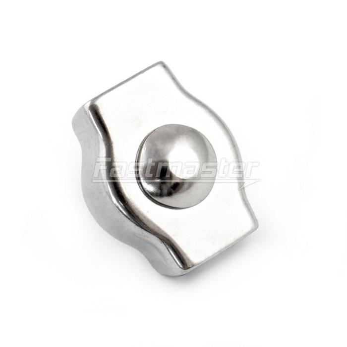 PP Seile - 1 Stück - EDELSTAHL SIMPLEX DRAHTSEILKLEMME 6mm[RZSPOJ6 ...