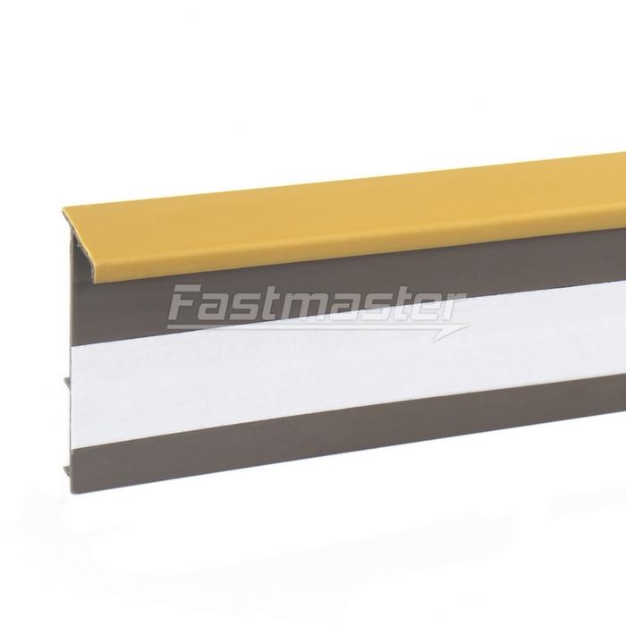 stahlseil 2 5m teppichleisten 50mm honig ldm fastmaster. Black Bedroom Furniture Sets. Home Design Ideas