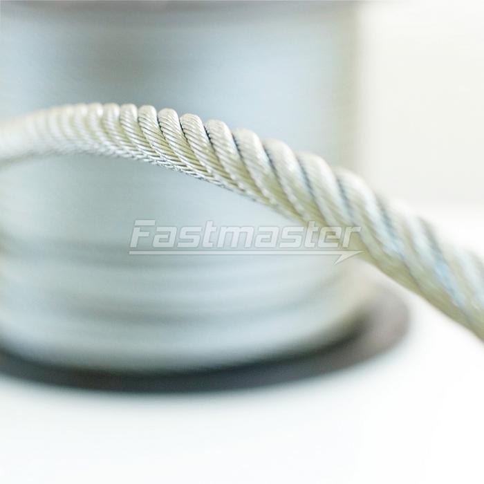 Stahlseil - 1m - DRAHTSEILE 8mm 6x19[LSO8619] - Fastmaster
