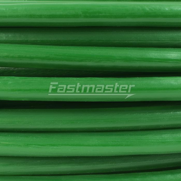 Stahlseil - 1m - DRAHTSEIL 8/10mm 6x19 - grün[LPVCZ10] - Fastmaster